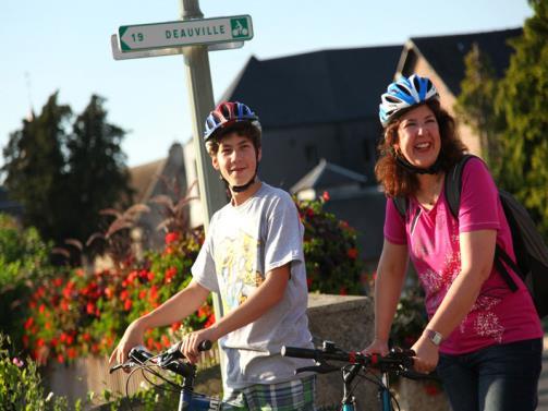 Balade à vélo en Normandie