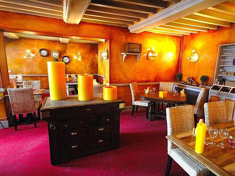 Hôtel La Pêcherie - Courseulles sur mer - restaurant