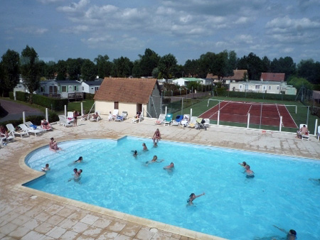 Camping cabourg prl le vert pr normandie calvados for Camping cabourg avec piscine