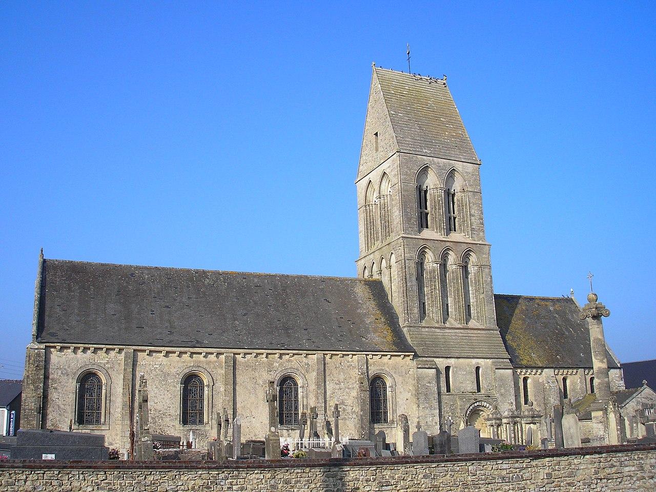 Formigny la Bataille, église