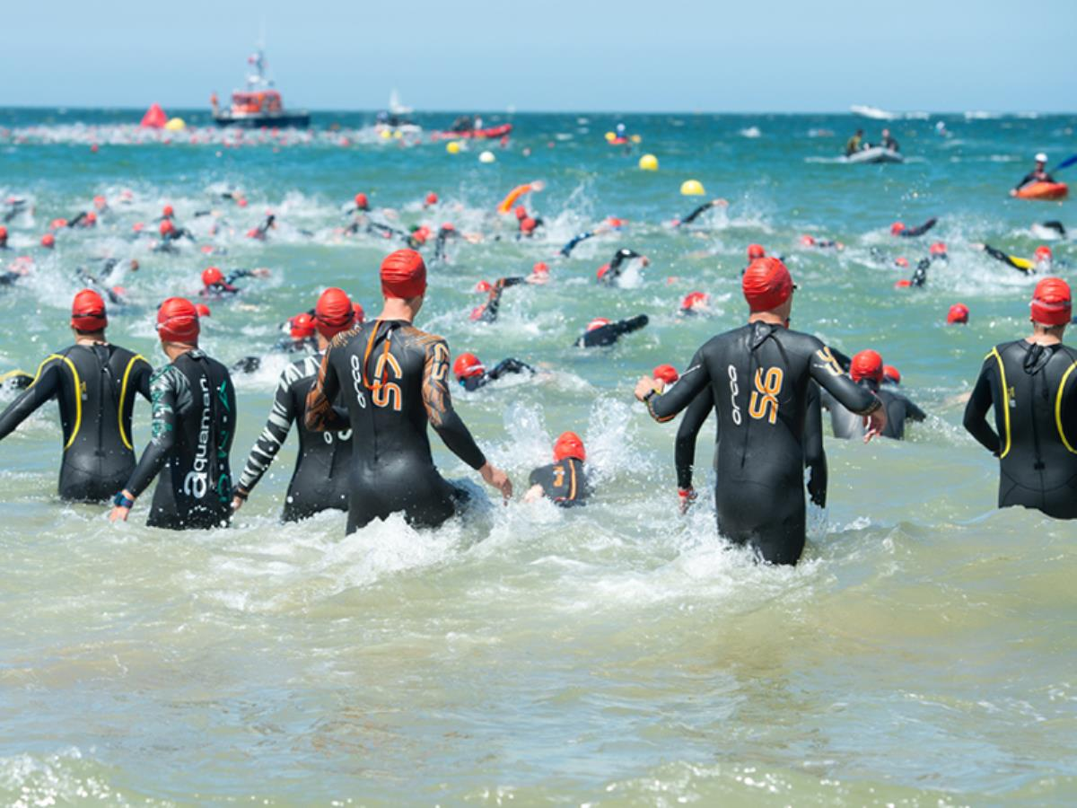 Triathlon International de Deauville Pays d'Auge #9