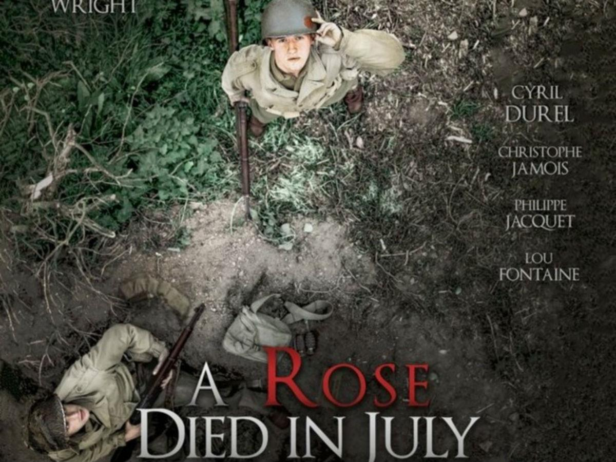A rose died in july
