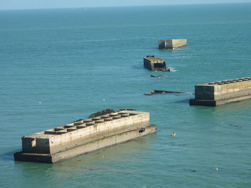 Port artificiel d'Arromanches - ©©Calvados-Tourisme