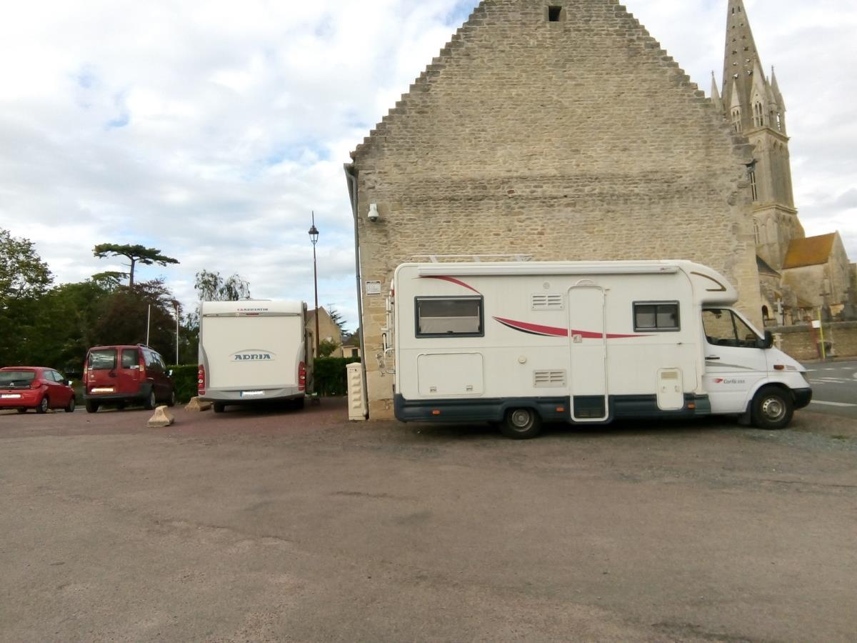 Aire camping car Langrune 48eme