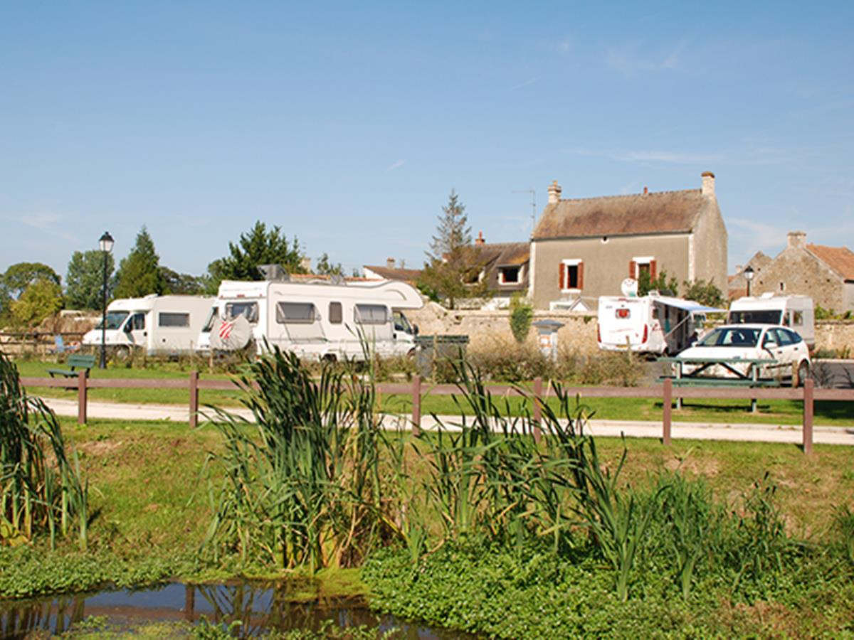 Aire de camping-cars intercommunale d'Hérouvillette