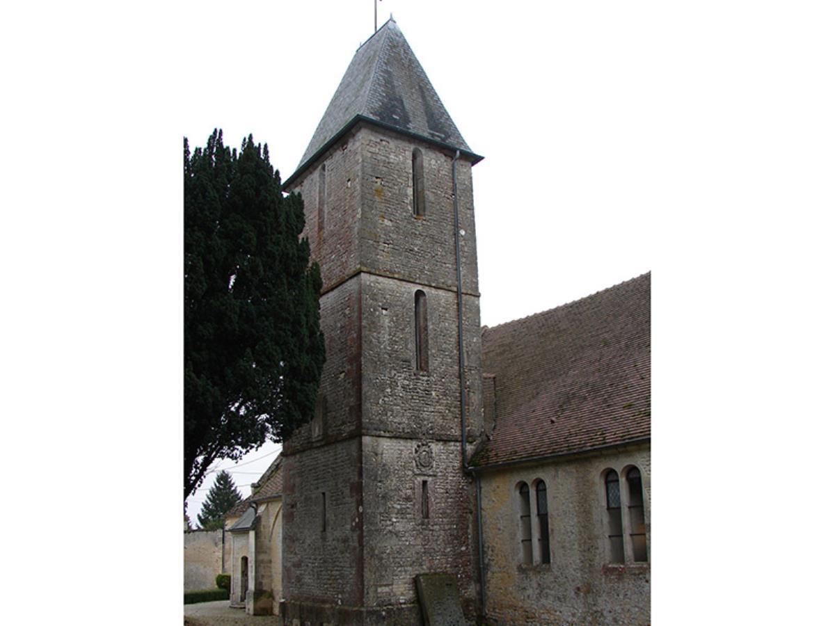 Lumières sur les Orants de l'église d'Aubigny