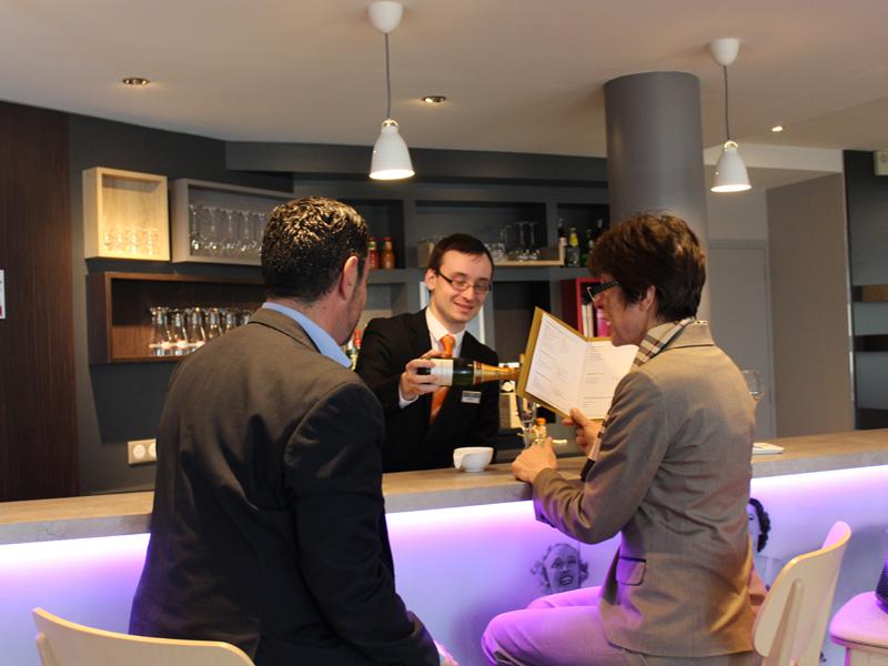 Hôtel Mercure Honfleur - Bar de l'hôtel - ©M. Desdoits