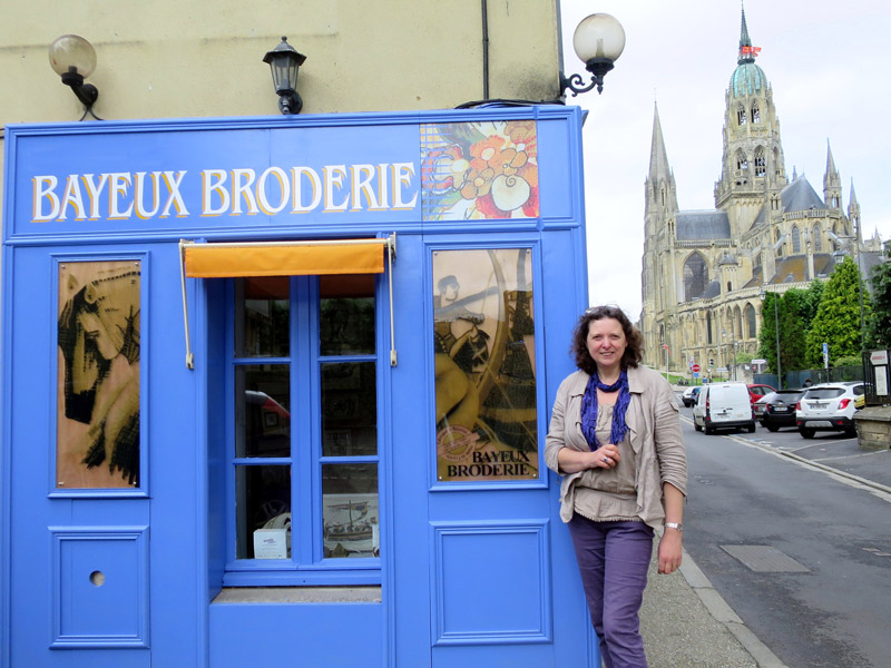 Bayeux Broderie - ©C. James