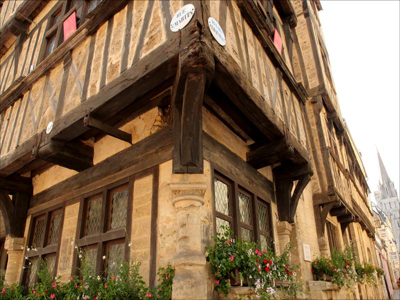 Bayeux cité médiévale - ©G.Wait-OTI Bayeux
