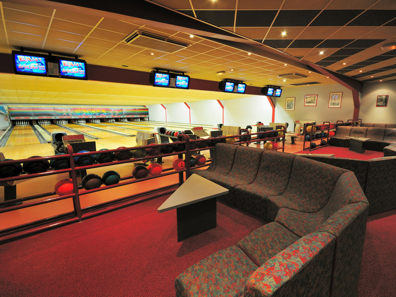 Lisieux Bowling, banquettes - ©Lisieux Bowling