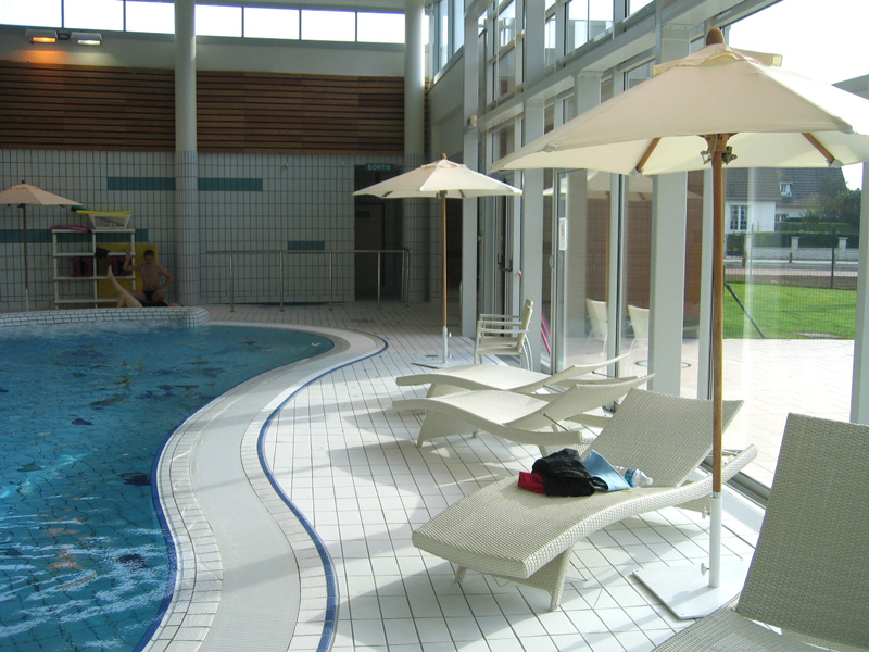 sirena swimming pool in carpiquet near caen a range of