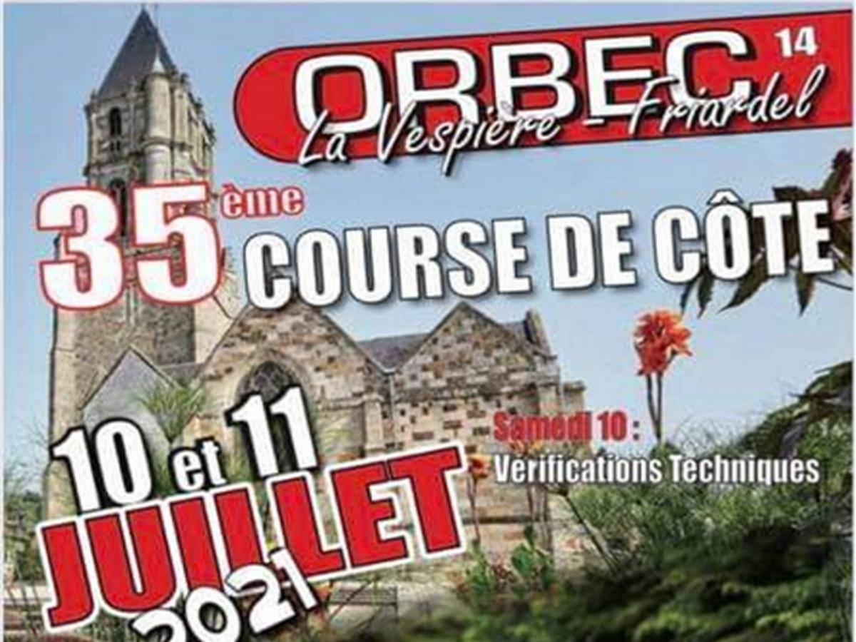 COURSE DE COTE ORBEC 2021