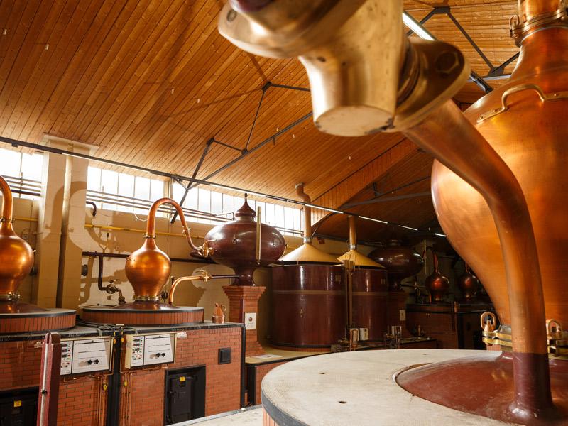 Maison des Calvados Boulard, alambics - ©D. Morganti