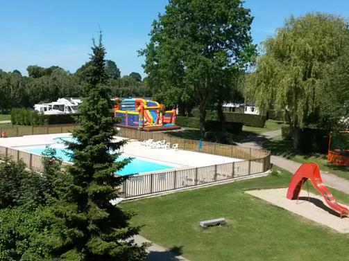 L'Orée de Deauville campsite - swimming pool