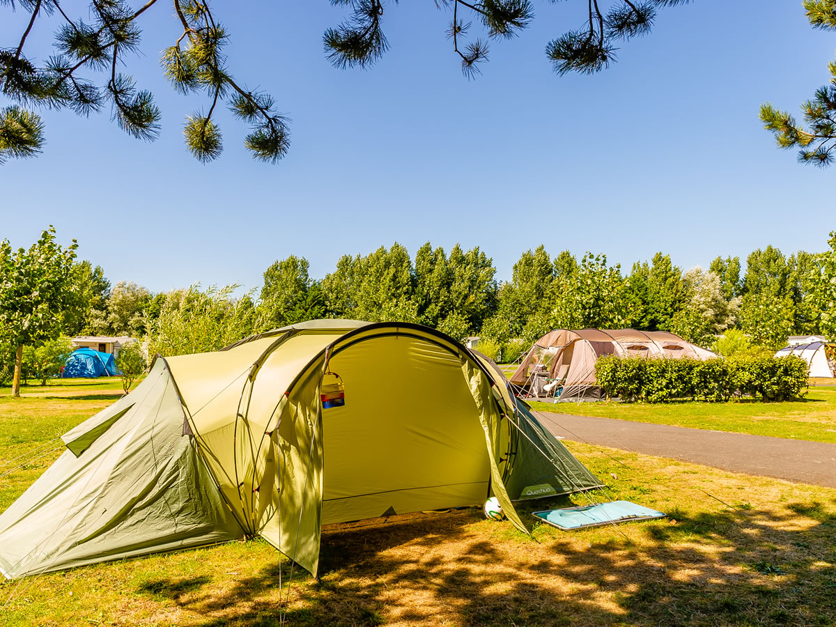 Camping-le-Fanal-emplacement-nu - ©Camping le Fanal