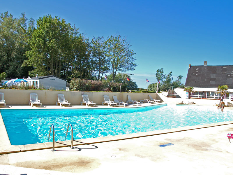 Camping bernieres sur mer camping le havre de berni res for Camping cabourg avec piscine