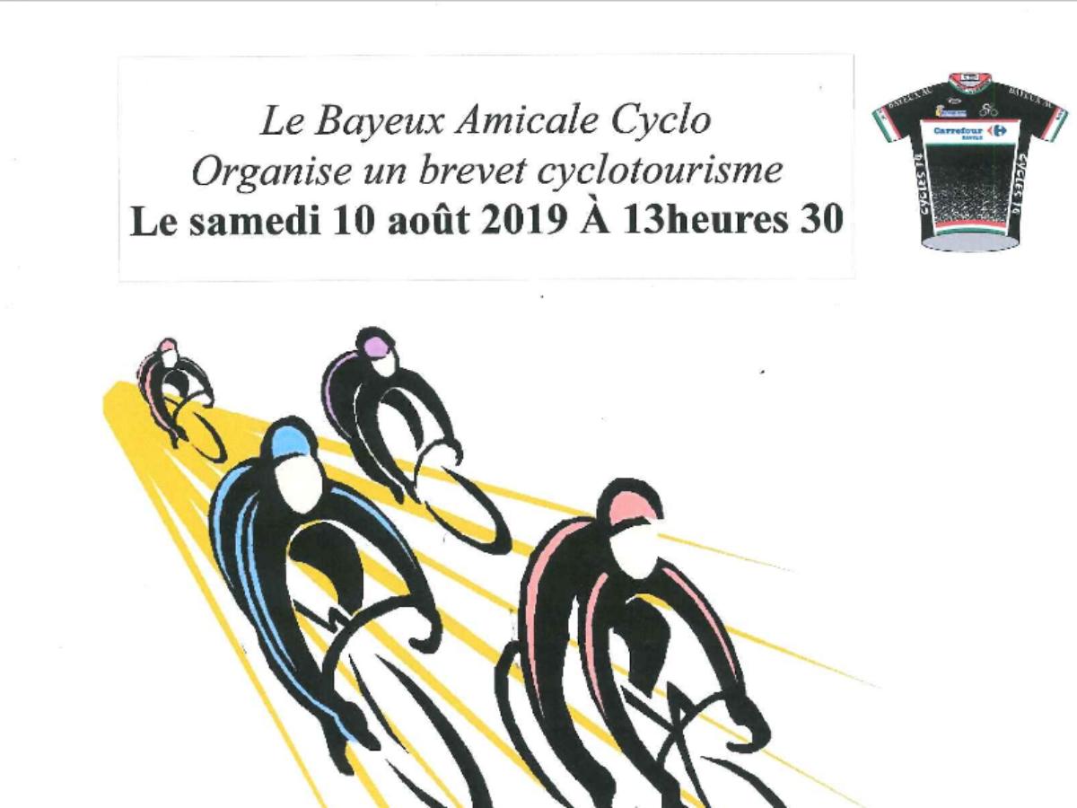 Brevet cyclotouriste par le Bayeux Amicale Cyclo