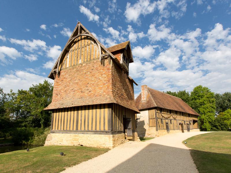 Château de Crèvecoeur en Auge - ©A. Guérin - Lithosphère