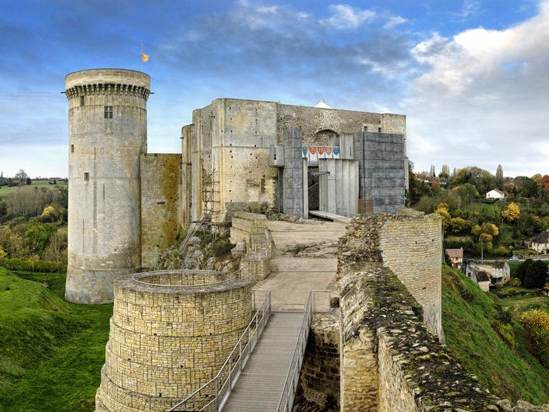 Chateau guillaume le conqu rant falaise en normandie - Horaire de la piscine de falaise ...