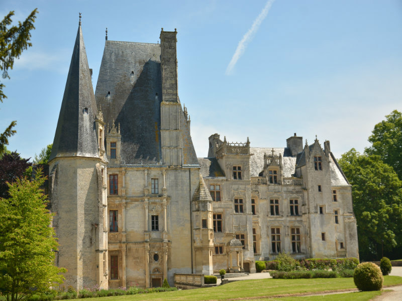 Château de Fontaine Henry - ©Château de Fontaine Henry