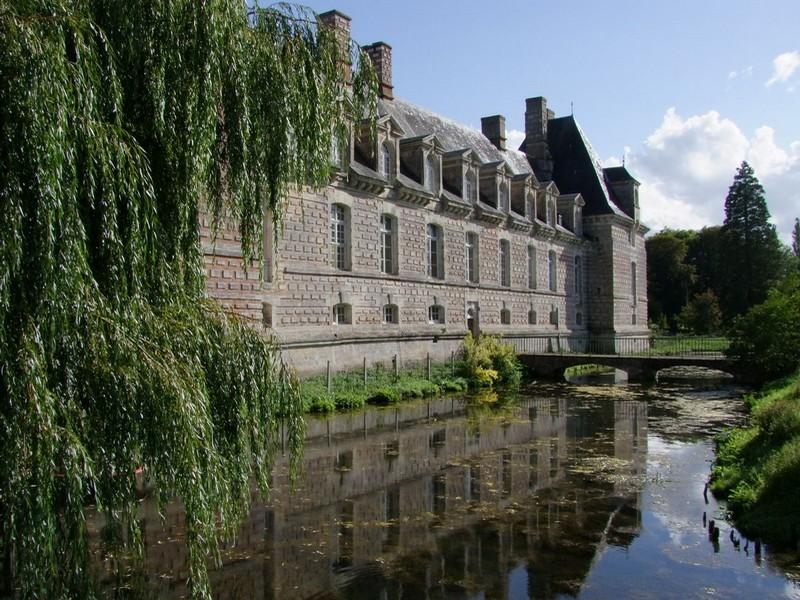 Chateau Le Kinnor à Ferveques pres de Lisieux Douves - ©Chateau le Kinnor