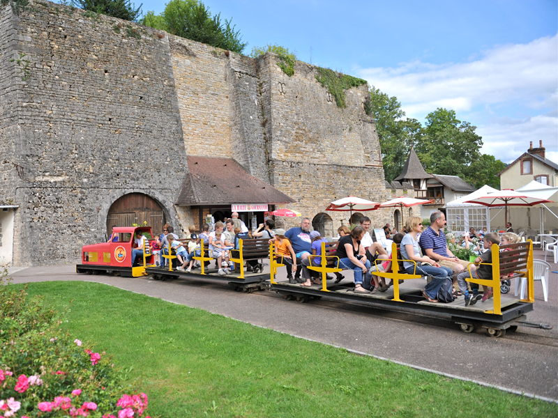 Petit train du chemin de fer miniature à Clécy - ©Chemin de fer miniature