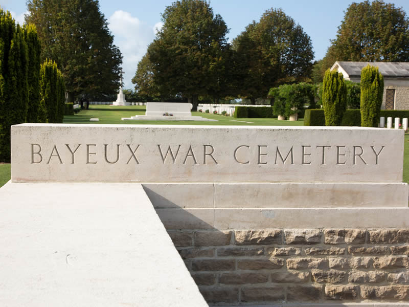 Cimetière Britannique de Bayeux - ©Arnaud Guérin - Lithosphère - www.arnaudguerin.com