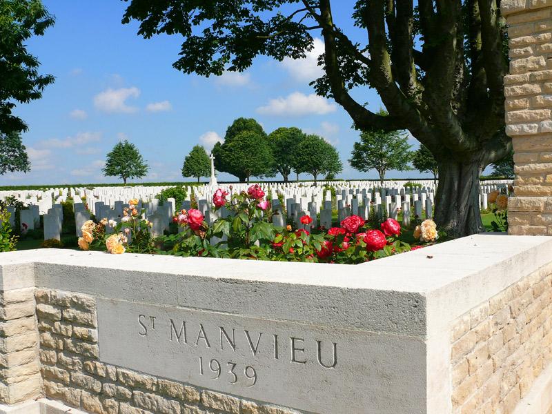 Cimetière militaire britannique Saint Manvieux Norrey - ©Calvados Tourisme