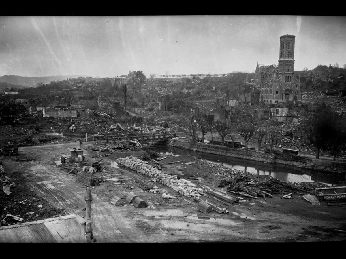 Balade guidée  La Libération et la Reconstruction de Condé