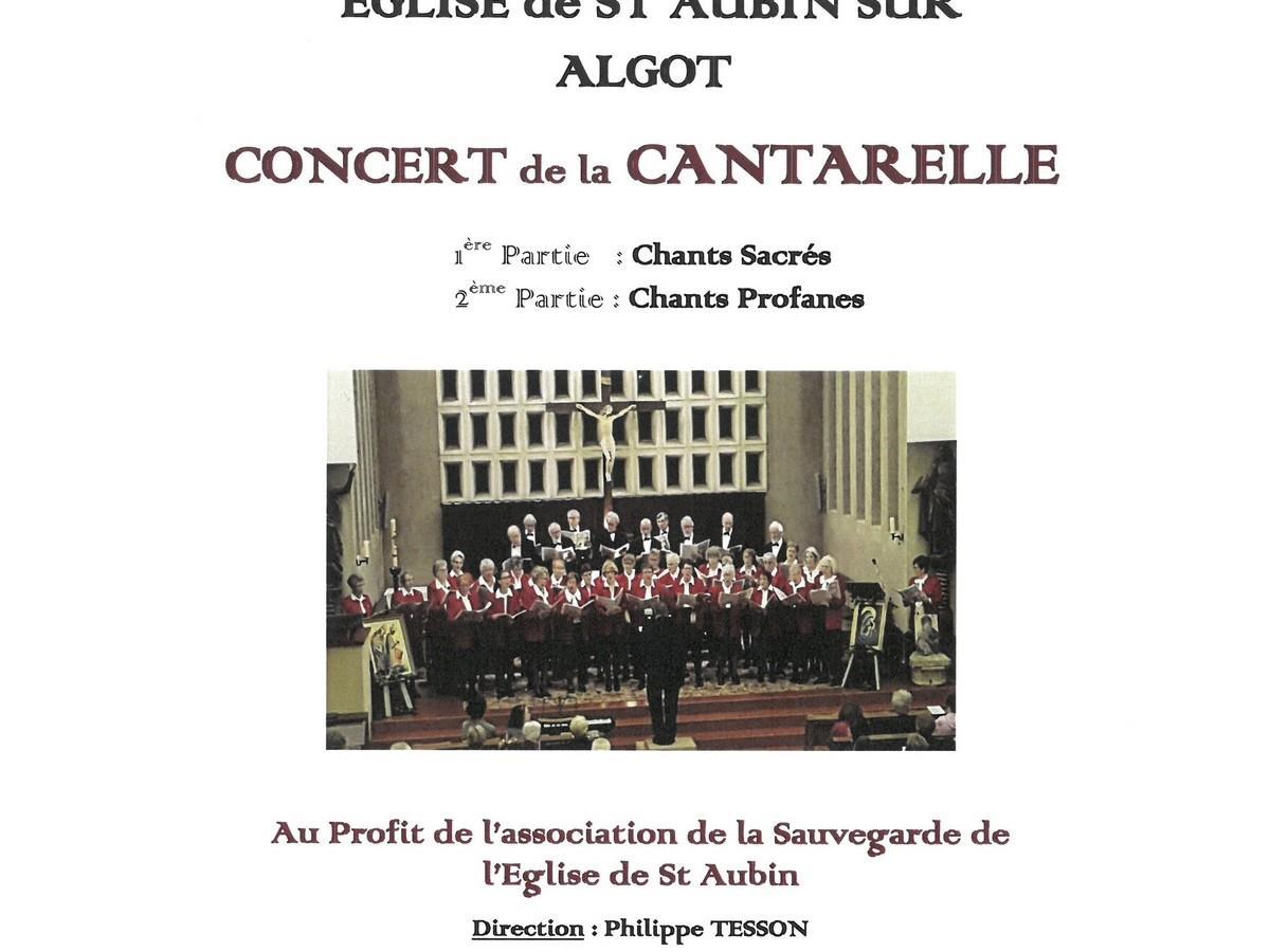 Concert de la CANTARELLE