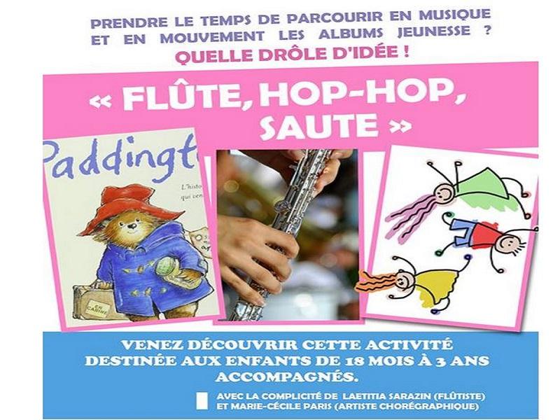 Flute Hop Hop saute - ©centre socioculturel de ouistreham