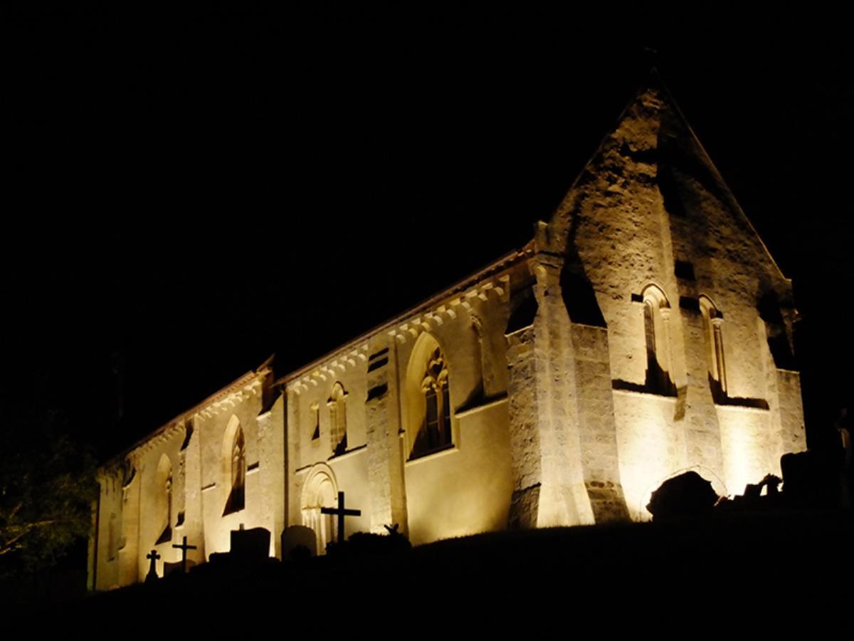 Mise en lumières de l'église Notre-Dame de Grangues