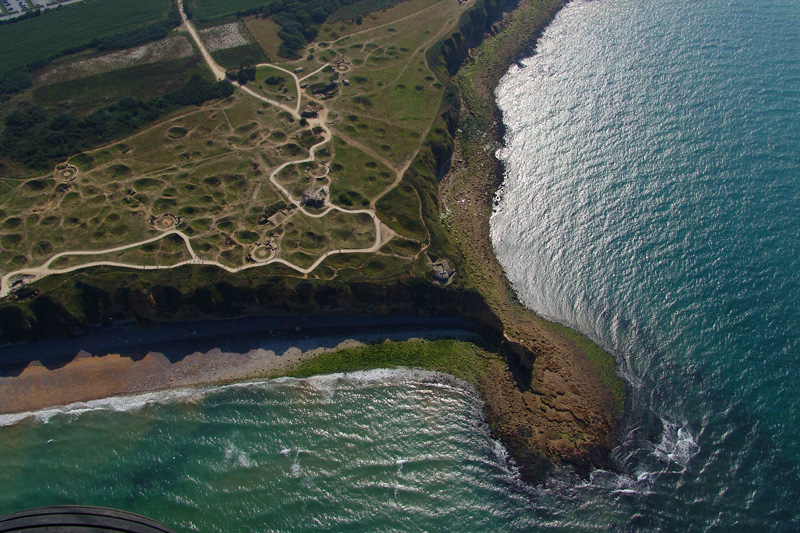 Pointe du Hoc - ©© S. Guichard