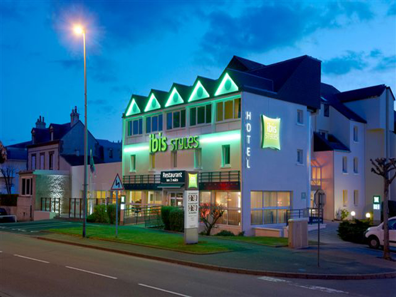 H tel ibis styles 3 toiles ouistreham dans le calvados for Style hotel