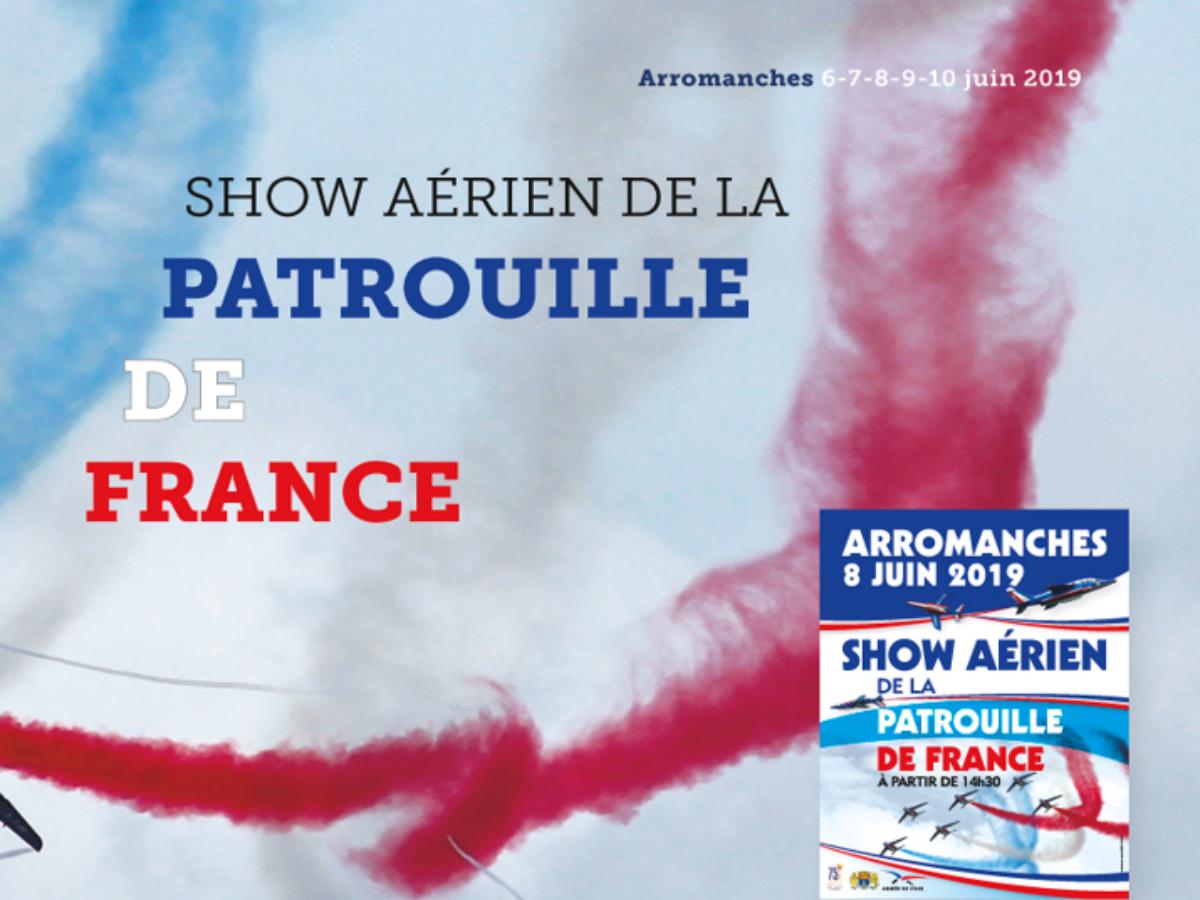 Show aérien de la Patrouille de France