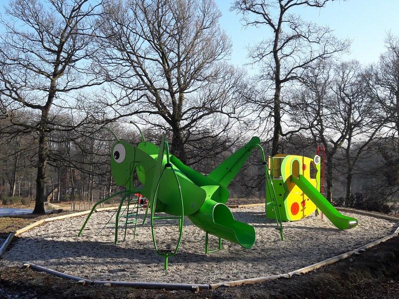 Jeux enfants Etape en Forêt (TIS) - ©OT Bocage Normand