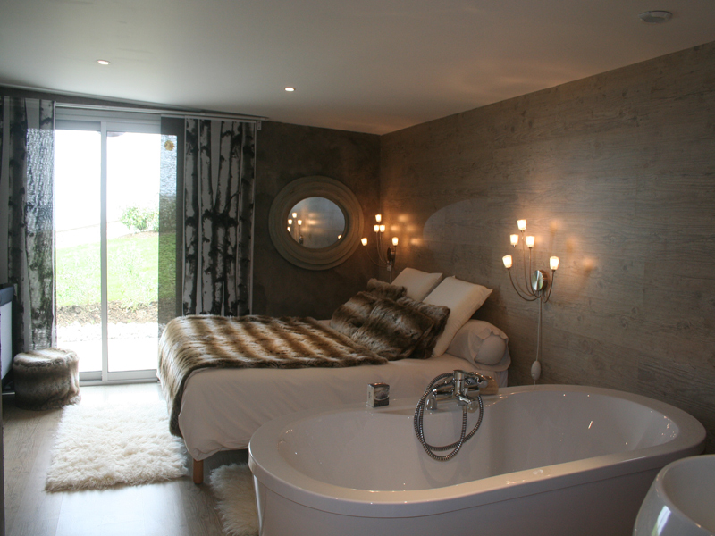 La maison de Jacky à Villerville, chambre 2 - ©Les Chambres d'Annie - Clévacances