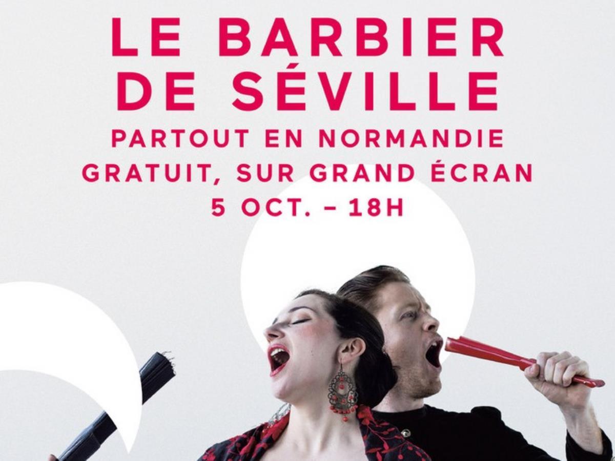 En direct de l'Opéra de Rouen : Le barbier de Séville