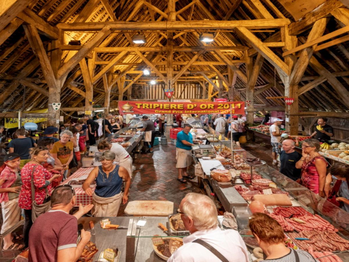 Marché traditionnel de Dives-sur-Mer