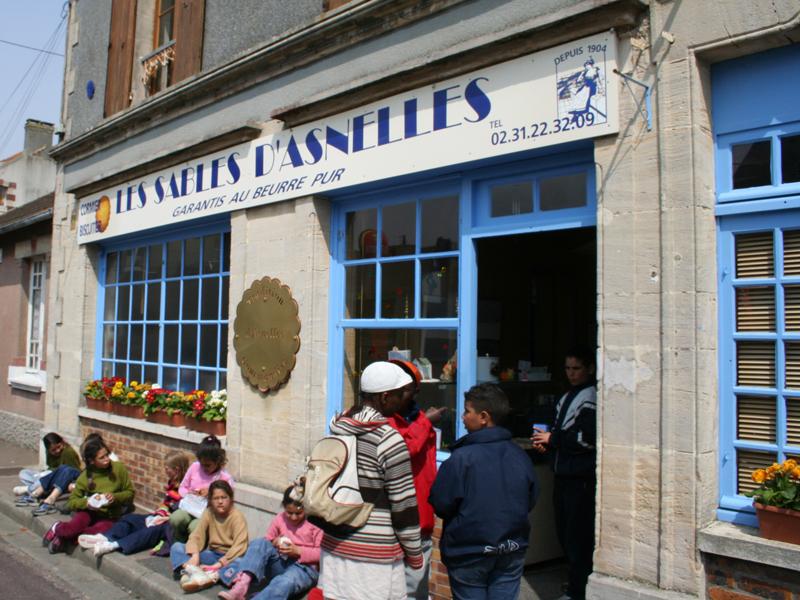 Les sablés d'Asnelles - ©Calvados Tourisme