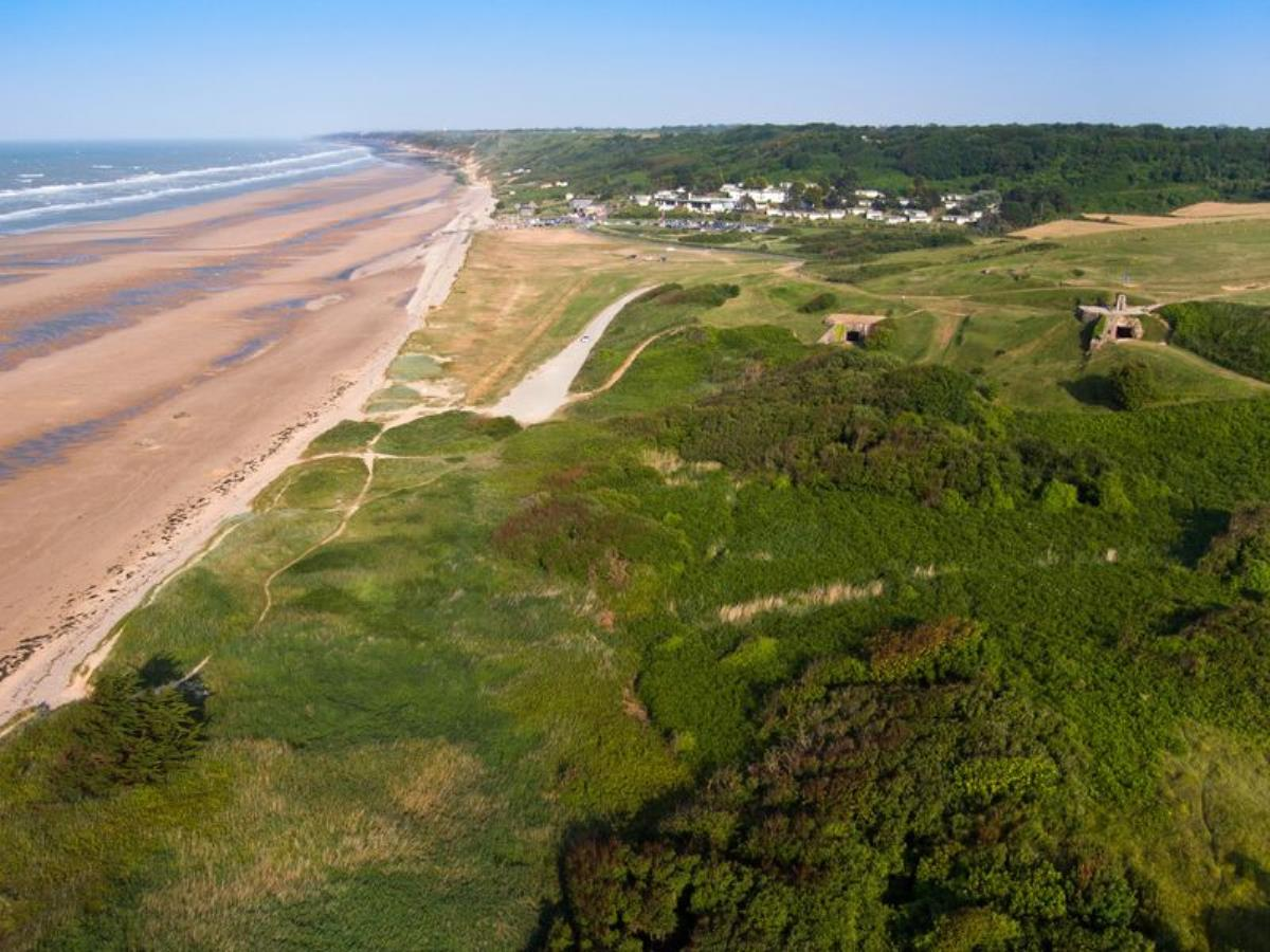 Sentier nature d'Omaha Beach