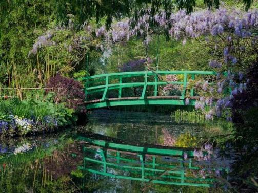 Pont-Japonais-Fondation Claude Monet-Giverny droits réservés
