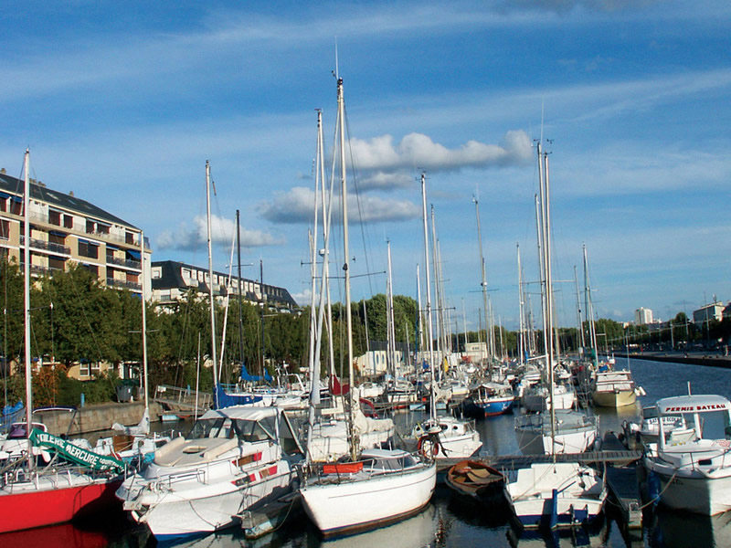 Port de plaisance de Caen - ©S. Guichard