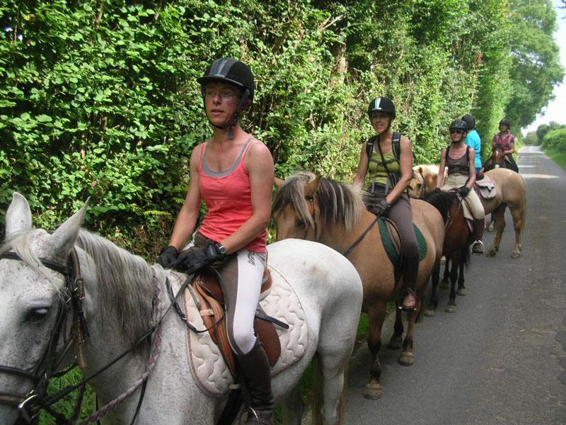Balade à cheval Calvados (9) - ©CE La souleuvre