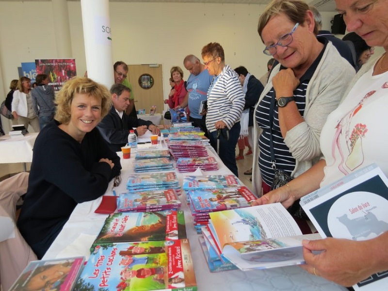 Salon du livre - Villers sur mer - Richard Duval © - ©Richard Duval©