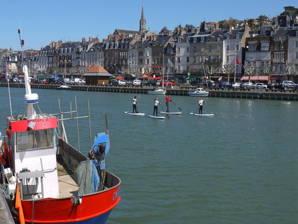 Balade en stand up paddle sur Trouville