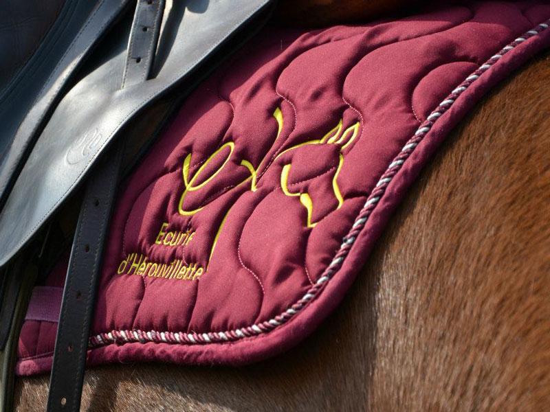 Selle-et-tapis--de-cheval - ©Dupont