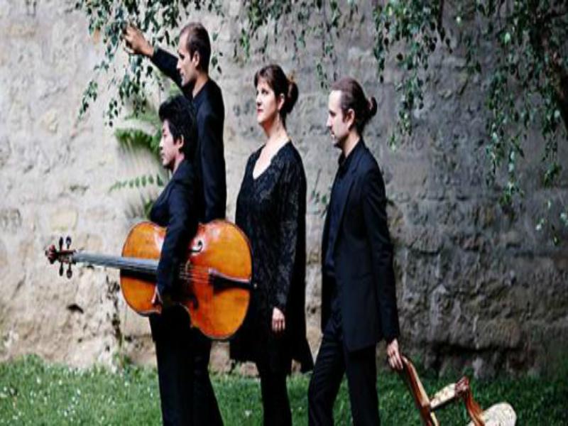 THEATRE DE CAEN-Intégrale des Quatuors de Haydn SAISON II©Franck Juery Quatuor Cambini-800x600 - ©Franck Juery