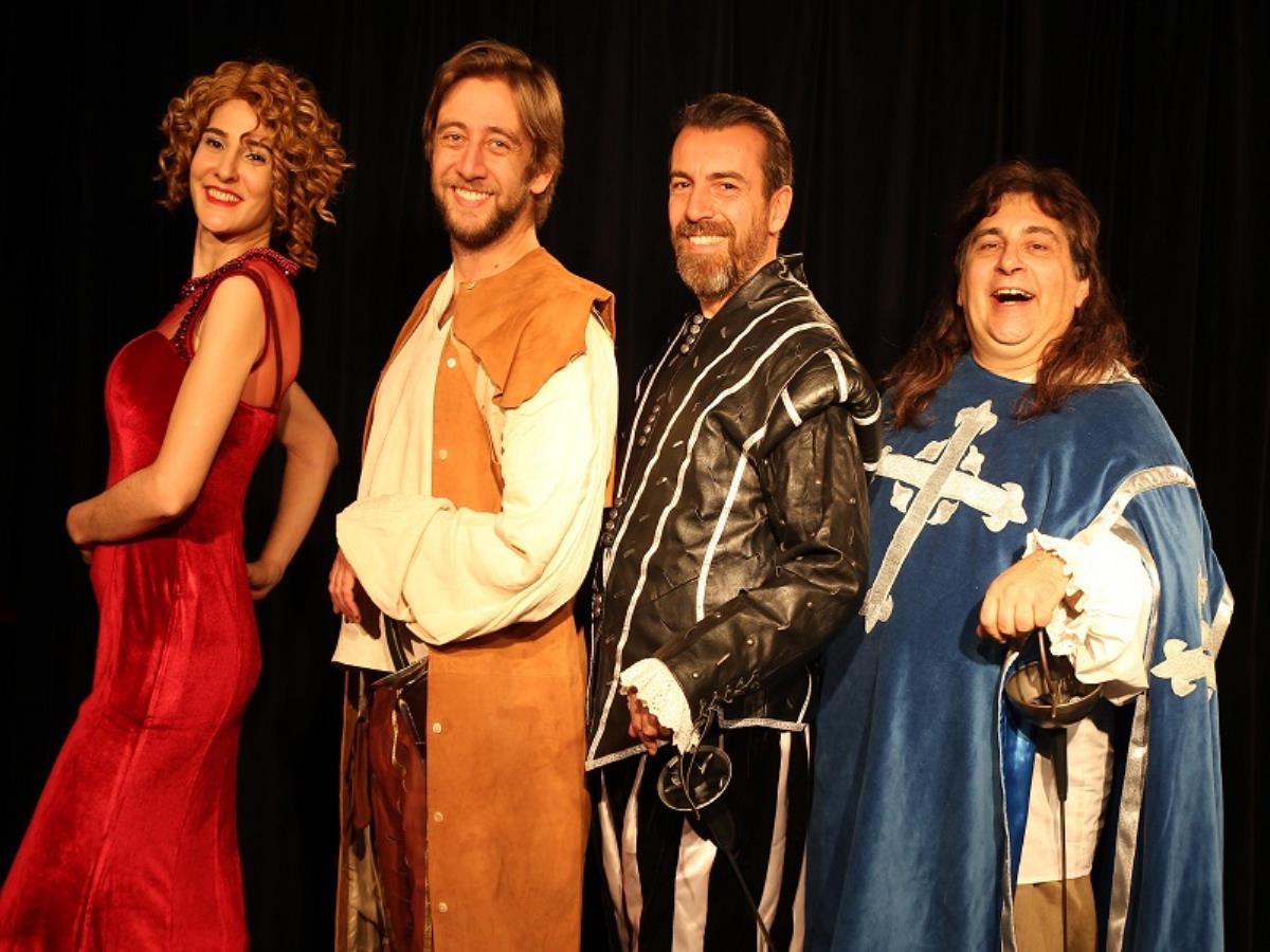Théâtre : Les trois mousquetaires