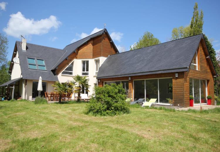 Villa Eden a Auberville, gite Clevacance, maison contemporaine avec jardin et terrasse